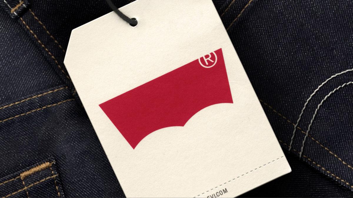 Levi's Batwing 品牌識別